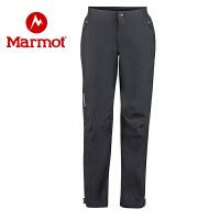 Marmot/土拨鼠秋冬款女士防水防风透气保暖冲锋裤