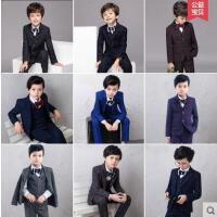 儿童西服款式新颖男外套新款小西装男童休闲套装韩版简约大气中大童花童礼服