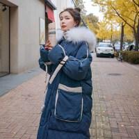 2019冬季新款外套中长款加厚棉衣潮冬季孕妇孕后期棉袄