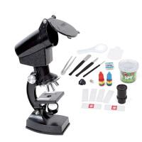 奥视界 *物启智探索玩具 1200倍科普学生显微镜 益智趣味变焦生物显微镜套装 生日礼物