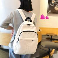 女韩版原宿 高中大学生书包古着感少女双肩背包