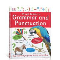 【全场300减100】英文原版 Visual Guide to Grammar and Punctuation DK语法