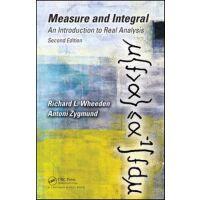 【预订】Measure and Integral 9781498702898
