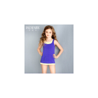 范德安新款儿童泳衣连体宝宝游泳衣可爱女孩大中童防晒训练泳装