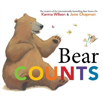 英文原版 Bear Counts 熊宝宝学数
