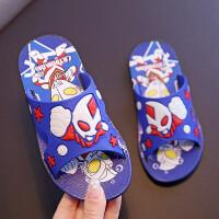 儿童拖鞋夏男童拖鞋浴室内软底防滑中大童夏季奥特曼女宝宝凉拖鞋