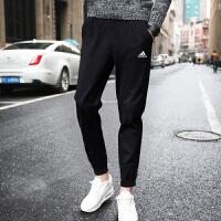 adidas阿迪达斯2018年新款男子运动全能系列针织长裤B47218