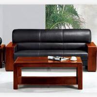 先创XC-SF3001三人位+长茶几(西皮)组合沙发