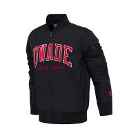 李宁夹克男士韦德系列长袖立领外套上衣男装冬季运动服AJDM223