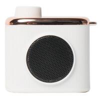 马克图布相机造型记忆小音箱USB迷你充电便携小巧复古创意礼品520情人节生日礼物送女生女友老婆 REMEMBERME白