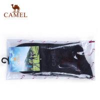 camel骆驼 秋季新品 骆驼户外纯棉袜子 男女情侣款 吸汗保暖高筒袜子2
