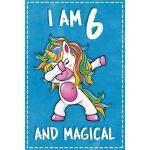 预订 Unicorn Birthday: I am 6 & Magical Unicorn birthday six