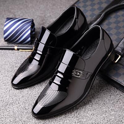 宜驰 EGCHI 男士皮鞋子正装商务套脚亮面一脚蹬男鞋99756 秋冬男靴,新品上架,快来看看吧~