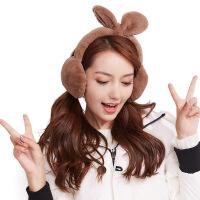 冬季保暖耳罩【可拆卸毛绒兔耳套】女学生冬天户外防风护耳捂耳朵
