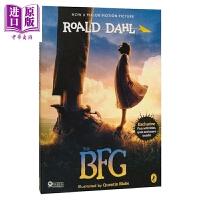 【中商原版】英文原版The BFG圆梦巨人电影版 罗尔德・达尔 巧克力工厂同作者 英语小说 Roald Dahl