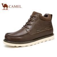 camel骆驼男靴 新款时尚 男士马丁靴 冬季保暖靴子