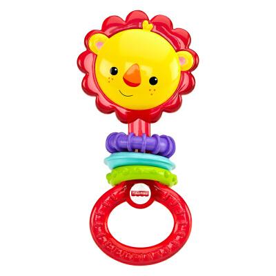 [当当自营]Fisher Price 费雪小狮子运动牙胶 CGR32 【当当自营】适合3个月以上婴幼儿 安抚玩具