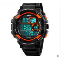 男士个性户外 手表大表盘电子表防水运动多功能男学生腕表