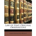 【预订】Law of Heat: Original Observations