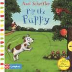 英文原版绘本Axel Scheffler Pip the Puppy 小狗皮普 咕噜牛同作者 低幼英语启蒙早教机关操作