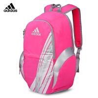阿迪达斯adidas羽毛球包 双肩背包运动休闲包女款