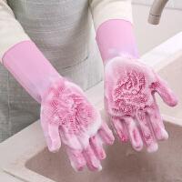 泰蜜熊抖音同款硅胶防烫魔术洗碗手套