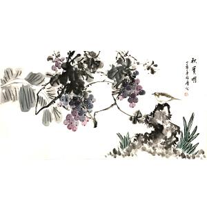 许鲁(秋实图)河南省美术家协会会员、中国书画艺术研究会会员
