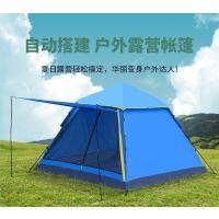 帐篷10-12人郊游自驾游户外新款 3-4人两室一厅双层防风防雨时尚简约