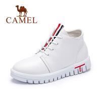 camel骆驼女鞋 简约舒适休闲女增高鞋单鞋