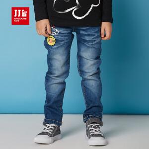 jjlkids季季乐童装男童牛仔裤春秋季长裤中小童牛仔裤BCK63013