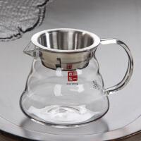 加厚耐热玻璃公杯茶海分茶器功夫茶具配件大号不锈钢带滤网公道杯