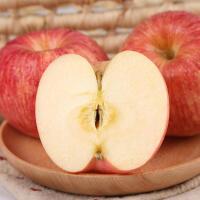 【烟台特产馆】烟台苹果水果红富士80mm5斤装 17年新果 现摘现发 脆甜可口