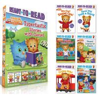 Tigertastic Stories with Daniel 6册盒装 套1 小老虎丹尼尔 西蒙准备阅读系列 Rea
