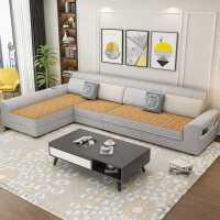 冬夏两用布艺沙发客厅小户型贵妃组合简约现代科技布免洗北欧家具