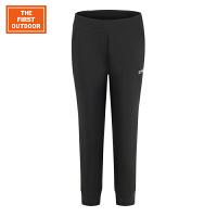 【专区一件折上3折】美国第一户外 休闲裤新款户外裤子 女款户外弹力透气运动跑步七分裤