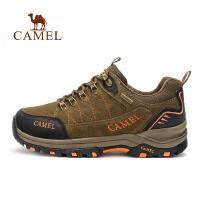 camel骆驼情侣款徒步鞋 男女防滑缓震低帮时尚徒步鞋