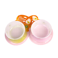 好娃娃婴儿吸盘碗辅食碗餐具宝宝防滑餐具 魔力硅胶吸盘碗 带盖