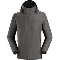 凯乐石户外男装CROSS全时GORE-TEX防水防风冲锋衣夹克KG110168