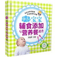 0-3岁宝宝辅食添加与营养餐速查:20多道促泌乳食物,50多道提高母乳质量的食谱,300多道宝宝辅食与营养餐,还有让宝