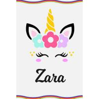 预订 Zara: Personal Notebook Personal Diary Unicorn Notebook