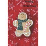 预订 Merry Christmas: Gingerbread Man Notebook [ISBN:97817926