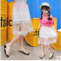 夏季女宝宝儿童裙夏装公主童装蓬蓬裙子长裙女童纱裙半身裙 可礼品卡支付