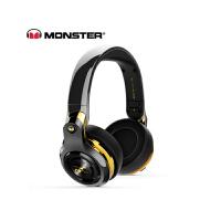 【当当自营】MONSTER/魔声 ROC Sport C罗定制款 头戴无线蓝牙耳机耳麦 触控按键 黑金色