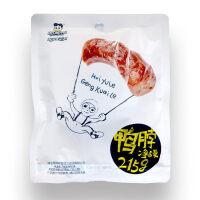 【周黑鸭_经典大包装】 卤鸭脖215g×2 熟食卤味零食 麻辣小吃特产