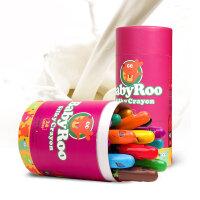 美乐进口儿童安全无毒油画棒可水洗炫彩棒可旋转 蜡笔套装6色