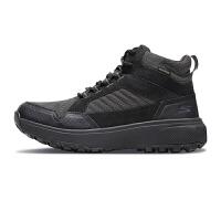斯凯奇Skehers男鞋新款高帮系带户外健步鞋拼接运动鞋