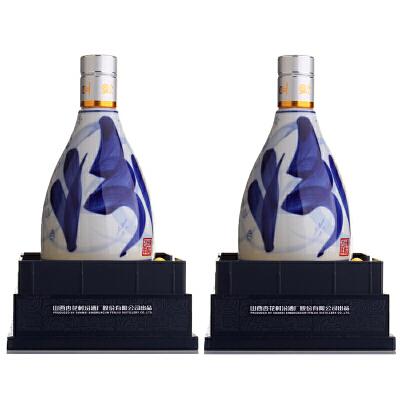 【酒界网】汾酒  53度 二十(20)年 青花瓷 500ml * 2瓶     白酒