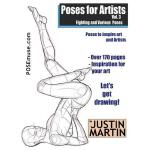 【预订】Poses for Artists Volume 3 - Fighting and Various Poses