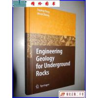 【二手9成新】Engineering Geology for Underground Rocks 地下