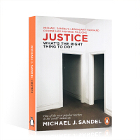 英文原版 Michael J.Sandel Justice: What's the Right Thing to Do